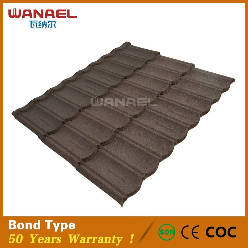 Wanael Bond Bend Tile Stone Chips Coated Aluminum Zinc U003cstrongu003eMetalu003c/