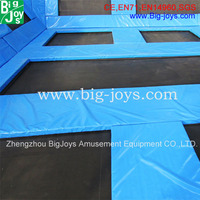 high jump small indoor trampoline park, cheap indoor trampoline park with foam pit