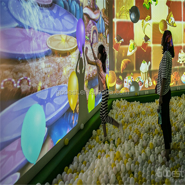 Hot sale interactive wall projection software