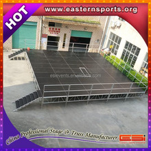ESI cheap mobile stage truck,portable stage platform,stage decoration material