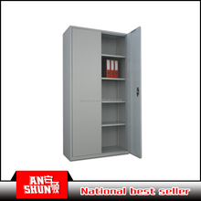 Steel office furniture metal A4 filing cabinet swing doors cupboard