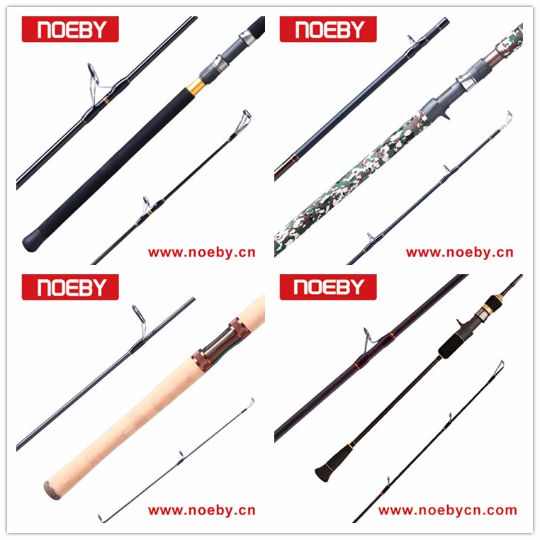 NOEBY best Toray carbon popping fishing rod