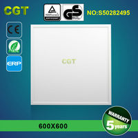 Shenzhen supplier super slim 36w 48w 54w led recessed ceiling panel light 600x600 square
