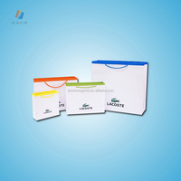 recyclable Coloful Commercial Custom shopping Paper Bags