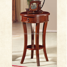 reproduction Antique style wooden side table coffee table for living room