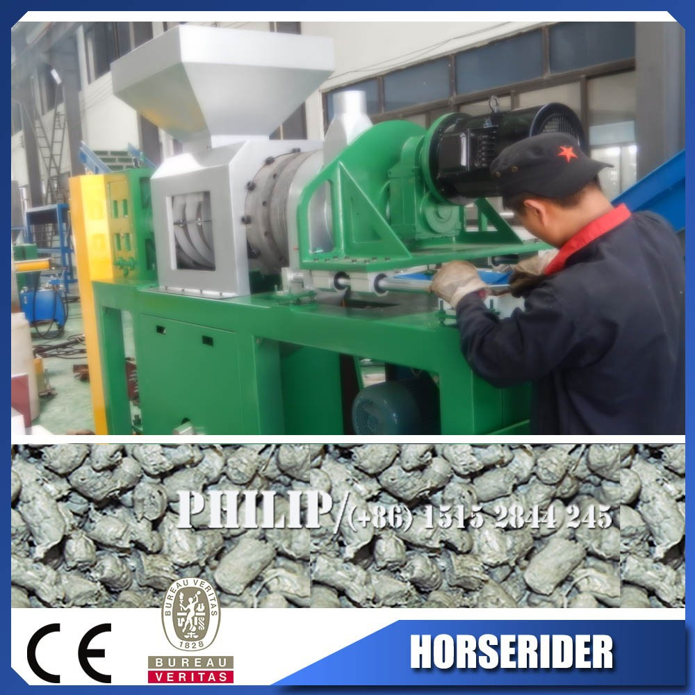 pp pe film slice granule making machine