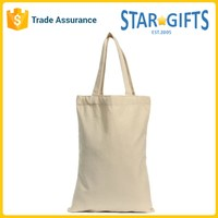 Wholesale Custom Logo Lightweight Reusable Foldable Cheap Tote Shopping Cotton Bag