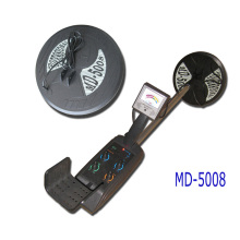 Metals detector for gold and silver searching, Portable hand held metal detector MD-5008 with double coils