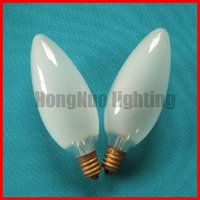 candle bulb E12 frosted C32