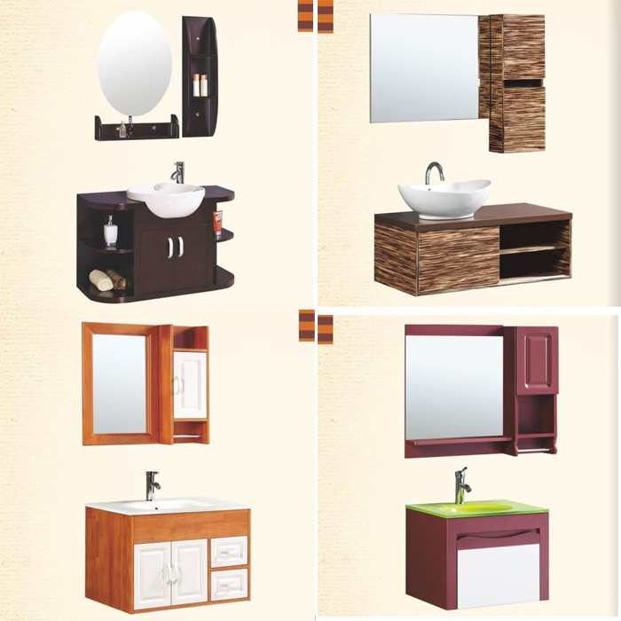 Domo haut de gamme am ricain moderne nouveau style salle de bains vanit s meuble lavabo de salle - Domo meuble ...