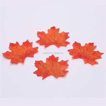 artificial fall silk cloth leaves wedding party decorations autumn maple leaf