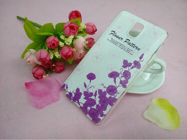 3D pattern color drawing mobile phone case for samsung note 3