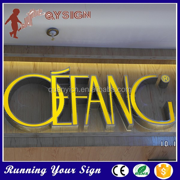 Attractive Shop window led double face sign for decoration