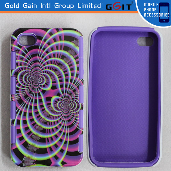 Hot Selling PC Frame Back Cover Combo Case For Samsung For Note3, 2 in 1 TPU Soft Case For Note3