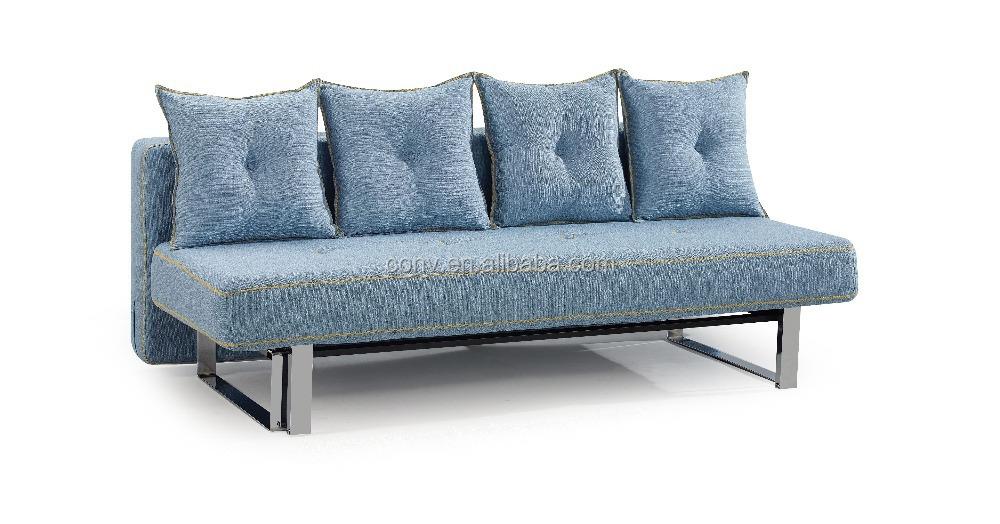 Ikea Style Single Futon Sofa Bed With Metal Legs Buy