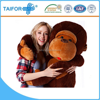 long arms and legs monkey plush toy with good quality