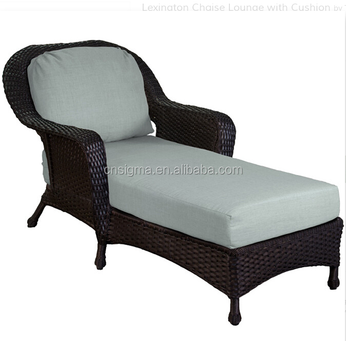 2017 Royal furniture sofa bed high back unfolding plastic rattan lounge chair