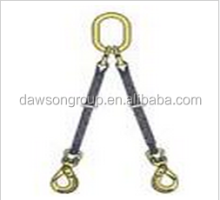 synthetic bridle sling 1-leg 2-leg 3-leg 4-leg lifting with safety factor 5:1
