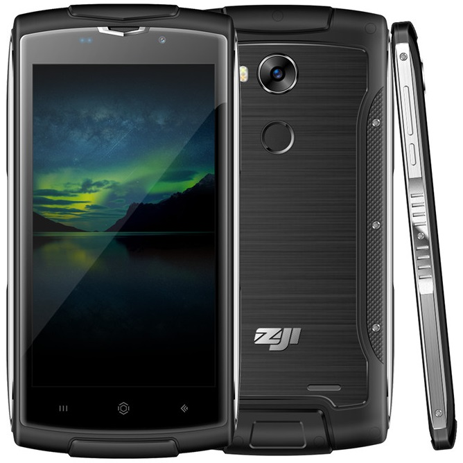 Z7 Quad core 5.0 inch HD screen 2GB 16GB Metal Rugged 4G LTE Waterproof Android Smart Phone with Finger scanner