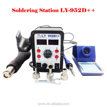 upgraded version new auto sleep function big power smart LY 952D++ dual led 2 in 1 weller solder station