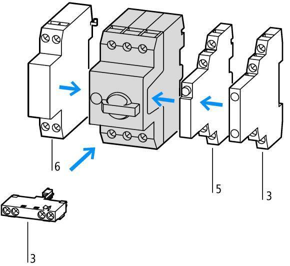 eaton 046938 pkzm0-16 3p 10-16a motor protective circuit breaker