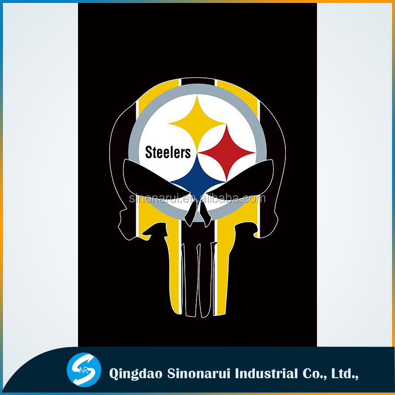 American soccer champions Pittsburgh Steeelers Skullcandy flags