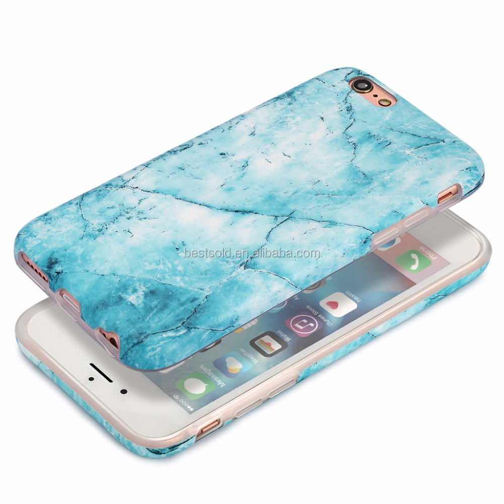 OEM IMD TPU Mobile Phone Accessories for iPhone 6 6S Plus,IMD Printing Marble Phone Case