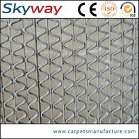 Waterproof non slip grid pvc floor for boat