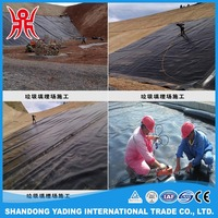 Good separation material 1.5mm 2mm HDPE geomembrane liner with low price