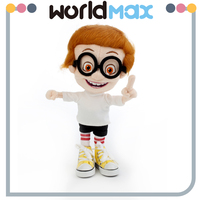 Mr Peabody & Sherman Plush Handmade Doll(PS1102)