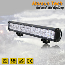 "20"" led light bar pencil flood combo,led lightbar 20 inch,126 watt led work light bar double row"