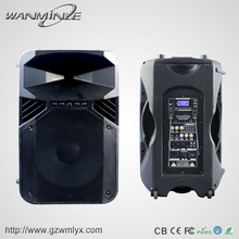 High Quality 15inch Active Speaker Big Power Sound System Speaker Box