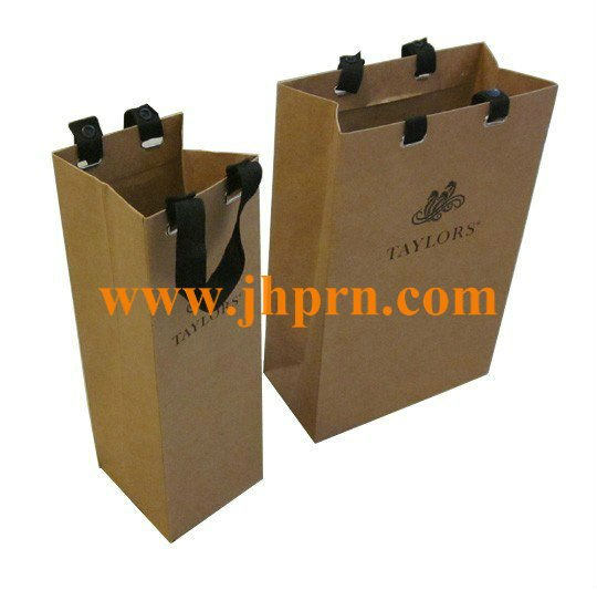 2 bottle wine gift bag