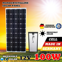12V 100Watts Solar Panel Off Grid Solar Panel 100W