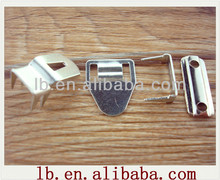 2013 high quality silver ,anti-brass metal trousers hook and eye and bar for garment for garment