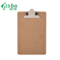 Wholesale low price mini clip board wooden a5 clipboard