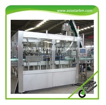 CE standard automatic wine screw capping and packing machine