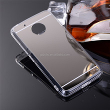 Whole sale ultra-thin phone cover for Motorola G5 for Moto mirror mobile phone case