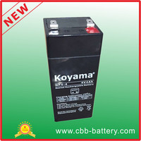 4ah 4V VRLA AGM small battery
