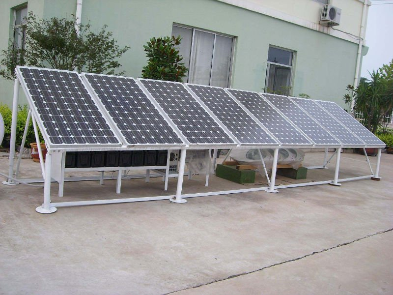 Renewable energy solar panel kits ground mounting 5kw / solar panel products for home use 5kw /solar panel system price in china