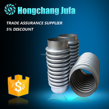 High quality import china goods stainless steel axial exhaust bellows compensator