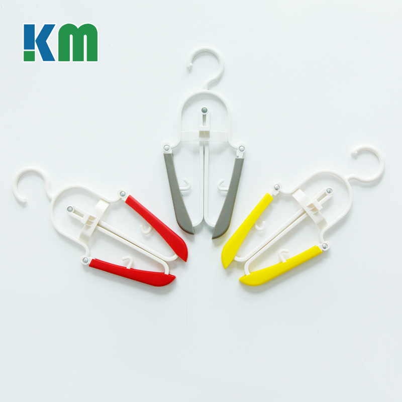 Wholesale White Plastic Suit Coat Folding cloth Hanger