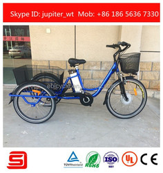 Shimano inner 3 gears electric adult tricycle JST01-B