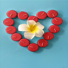 Fashional red tealight wedding candles manufacturer