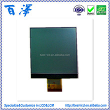Customized Wide Temperature Data Scan & POS 3.0V FSTN Positve COG 128*128 Dots Graphic LCD Display Module