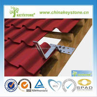 Home Tile Roof Solar panel mounting/Aluminum Solar Mounting Structure/Home Roof Solar Panel Mounting Bracket