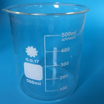 Laboratory Borosilicate Glass Beaker Low Form Cordial