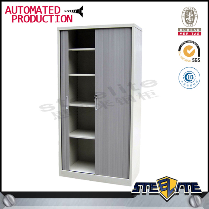 Selangor Darul Ehsan popular used medium height roller shutter door cupboard with 2 adjustable shelf