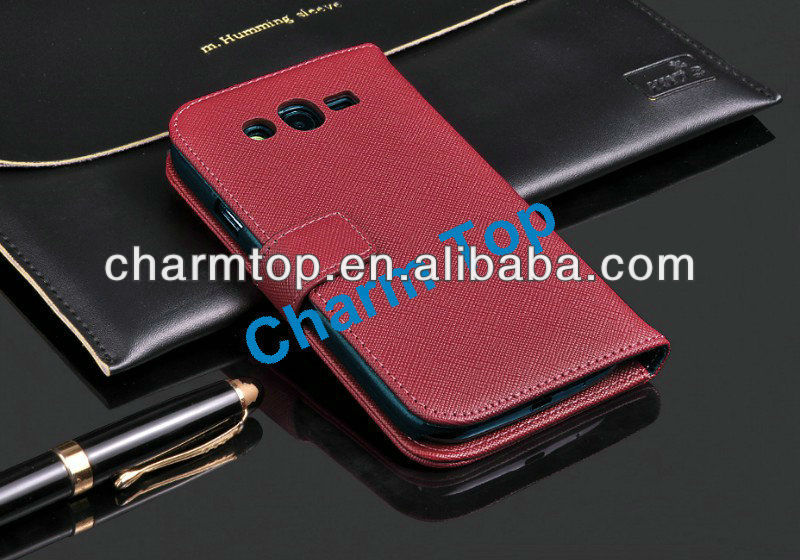 Wallet Leather Case For Samsung Galaxy Grand Duos i9082