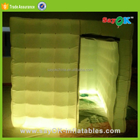 Event led foldable inflatable photo booth frames kiosk rental